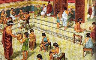 Древние системы воспитания — справочник студента