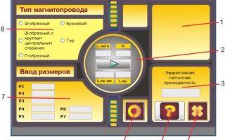 Тензор магнитной проницаемости — справочник студента