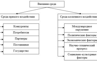 Внешняя среда — справочник студента