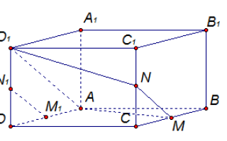 Тетраэдр и параллелепипед — справочник студента