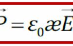 Связь вектора поляризации со связанными зарядами — справочник студента