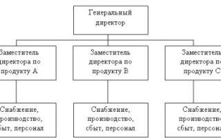 Типы организаций по взаимодействию подразделений — справочник студента