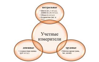 Понятие о хозяйственном учете, его виды, учетные измерители — справочник студента