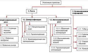 Эталонные стратегии развития — справочник студента