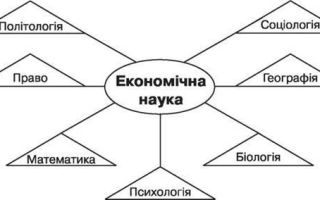 Взаимосвязь экономической теории с другими науками — справочник студента