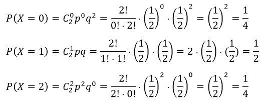 Биномиальное распределение - Справочник студента