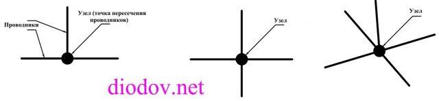 Правила Кирхгофа для цепей переменного тока - Справочник студента
