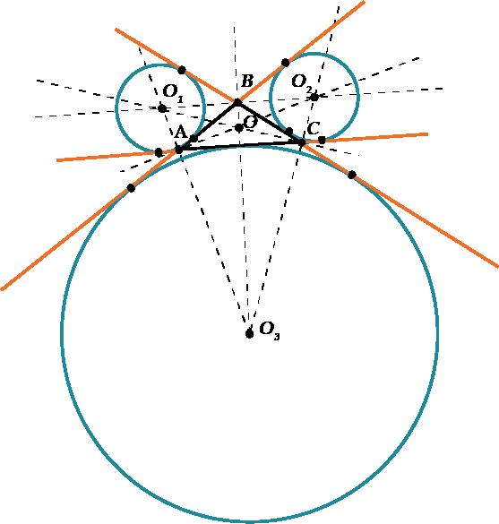 Вписанная и описанная окружности - Справочник студента