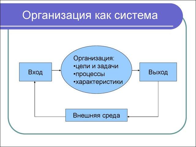 Организация как система - Справочник студента