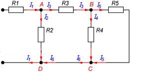 Закон сохранения энергии для цепей постоянного тока - Справочник студента