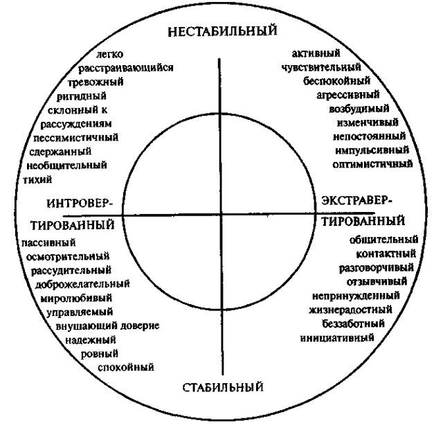 Психологические описания: сангвиник и холерик - Справочник студента