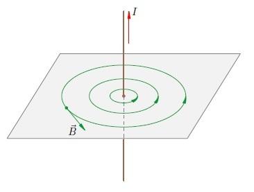 Поле элементарного тока и элементарный ток в магнитном поле - Справочник студента
