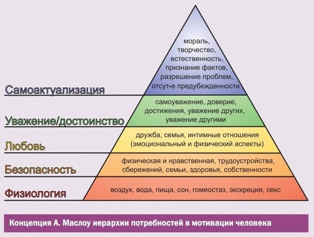 Теория личности А. Маслоу - Справочник студента