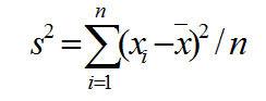 Среднее квадратическое отклонение - Справочник студента